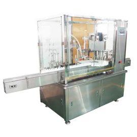 دستگاه پرشدن و بسته بندی بطری مایع 10ml-100ml با پمپ پیستونی