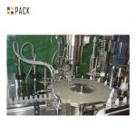خط پر کننده بطری مواد شیمیایی / خط دستگاه پر کننده مواد شوینده با دستگاه پر کننده سروو