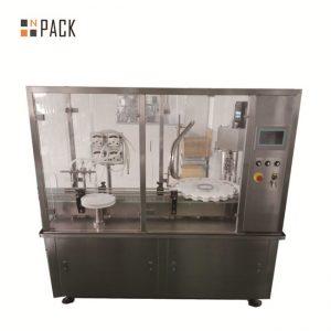 دستگاه پر کننده لوسیون کارآمد / دستگاه پر کننده بطری های آرایشی اتوماتیک