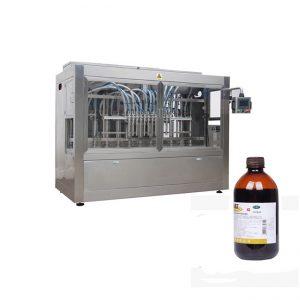خط پر کننده بطری های مایعات دامپزشکی / خط دستگاه پر کننده مایعات خوردگی