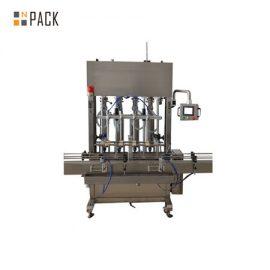 دستگاه پر کردن جاذبه مایع کود 500ml-5L 12 Head اتوماتیک