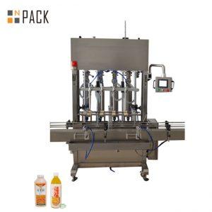 10 دستگاه پر کننده خمیری برای پر کردن مایعات با چسبندگی کم / زیاد