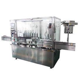 دستگاه پر کننده و درب اتوماتیک 8 سر شربت برای خط تولید دارویی