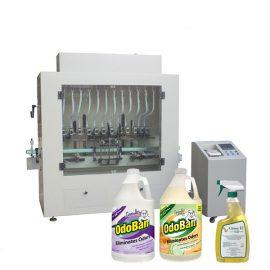 دستگاه ضد عفونی کننده ضد خوردگی مایع ضد عفونی کننده دست و دستگاه پر کننده مایع الکل