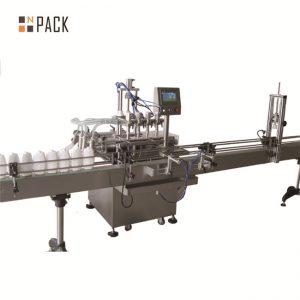 خط پر کننده مایع اتوماتیک 6.5kw خط 20 - 50 بطری / حداقل ظرفیت
