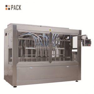دستگاه پر کننده پیستون Servo / دستگاه پر کننده خطی کاملاً اتوماتیک با سیستم رها کردن
