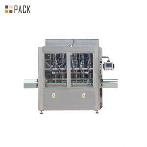 دستگاه بسته بندی بطری E-مایعات 10ml-100ml و بسته بندی برچسب خط با پمپ پیستون