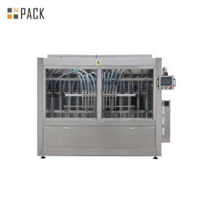 100ml - دستگاه پر کردن بطری مایع اتوماتیک 1L ، دستگاه پر کننده اسید Clorox / Bleach / Acid