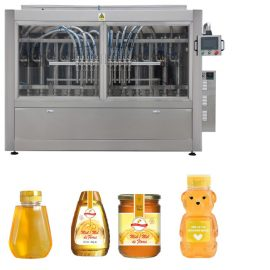 50 – 1000ml Filling Volume Honey Bottle Filling Line With High Efficiency