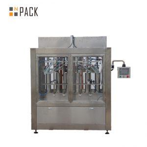 خط پر کننده بطری تمیز کننده با دستگاه پرکننده بطری ضد خوردگی و دستگاه روتاری روتاری