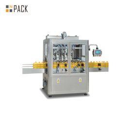 دستگاه پر کردن مایع اتوماتیک کنترل صفحه لمسی ، تجهیزات پر کردن مایع جاذبه زمان
