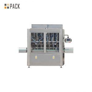 250ML-5L پر کردن مایع آفت کش ها و ماشین آلات بسته بندی دستگاه پایدار ضد خوردگی