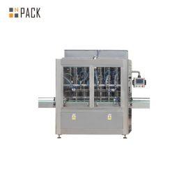 خط پر کننده روغن خوراکی 1L-5L با دستگاه پر کننده سرو ، دستگاه کوچک کردن آستین بسته بندی آستین