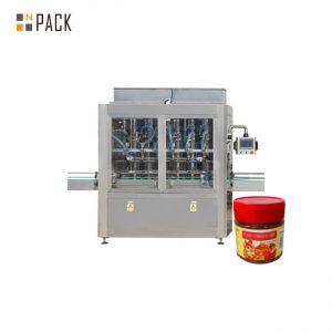 دستگاه پر کننده سس مقاومت در برابر سایش دستگاه پر کننده جام جم 304 فولاد ضد زنگ