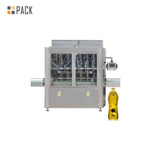 30-80 B / MIN Automatic 8 Heads Linear Servo Motor Control Piston Filling Machine for 0.5-5L