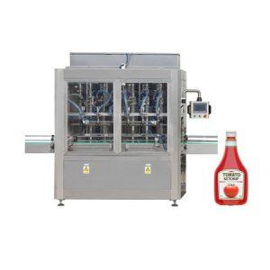 دستگاه پرکننده اتوماتیک ویسکوزیته عسل روغن سس گوجه فرنگی سس گوجه فرنگی دستگاه پر کردن مایع