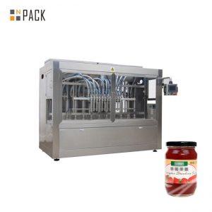 دستگاه بطری بازرگانی رب گوجه فرنگی