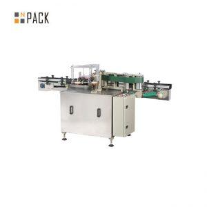 دستگاه لیبل اتوماتیک بطری شیشه ای / ماشین برچسب چسب مرطوب برای برچسب کاغذ